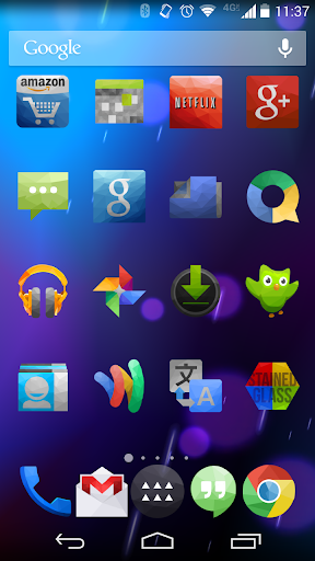Stained Glass Icon Pack