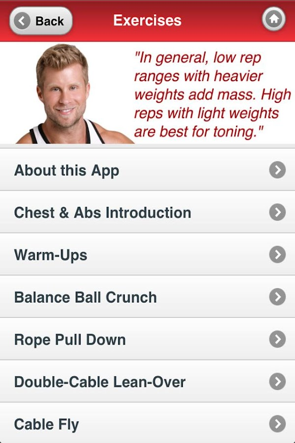Muscle Building | Chest & Abs- screenshot