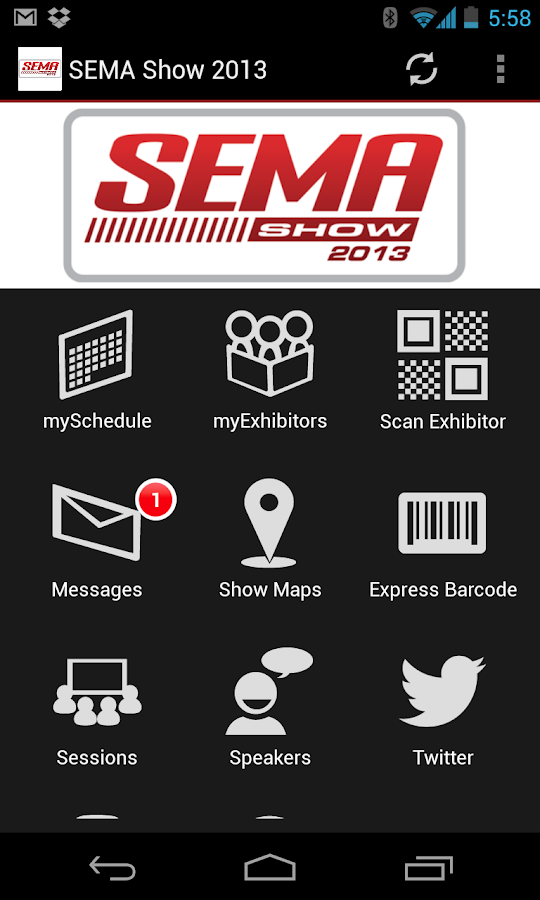 The SEMA Show 2013 - screenshot