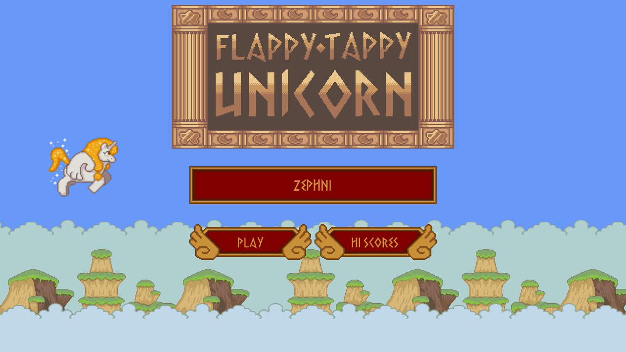 Flappy Tappy Unicorn- screenshot