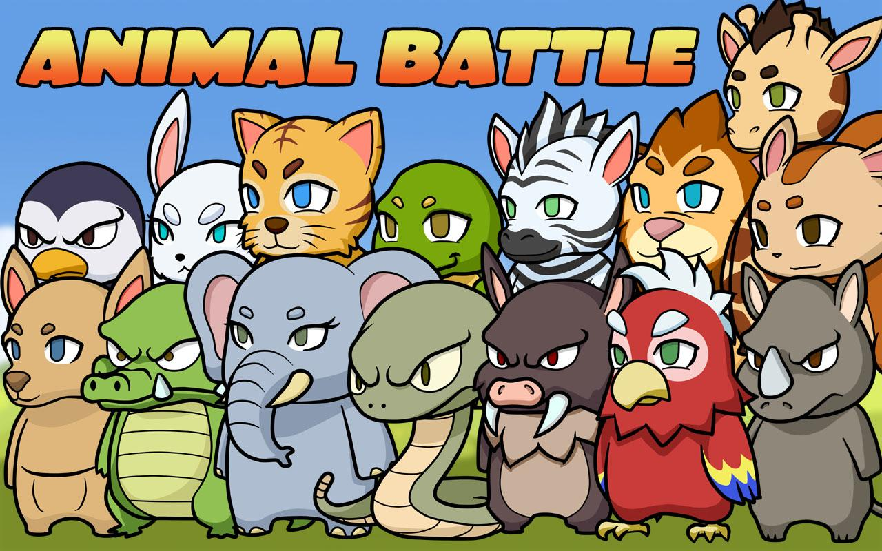 Animal Battle Free- screenshot
