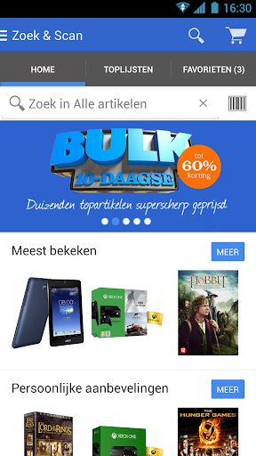 Zoek Scan-app voor bol.com