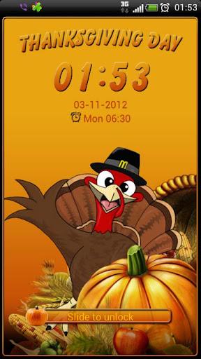 Thanksgiving Day GO Locker thm