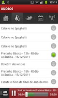 Screenshot of Rádio Atlântida