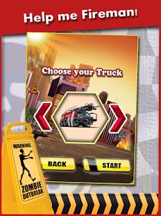 【免費賽車遊戲App】Zombies extreme Fire Truck-APP點子