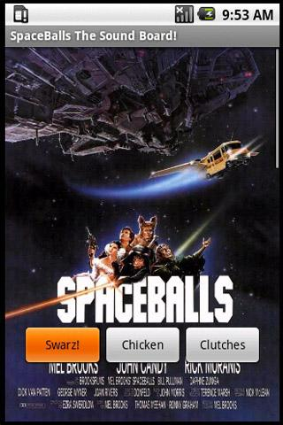 Spaceballs The Sound Board - screenshot