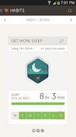 Screenshot of Basis B1 Fitness&Sleep Tracker
