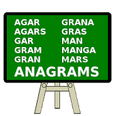 Anagrams Word Quiz - English