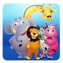Animals for Kids mobile app icon
