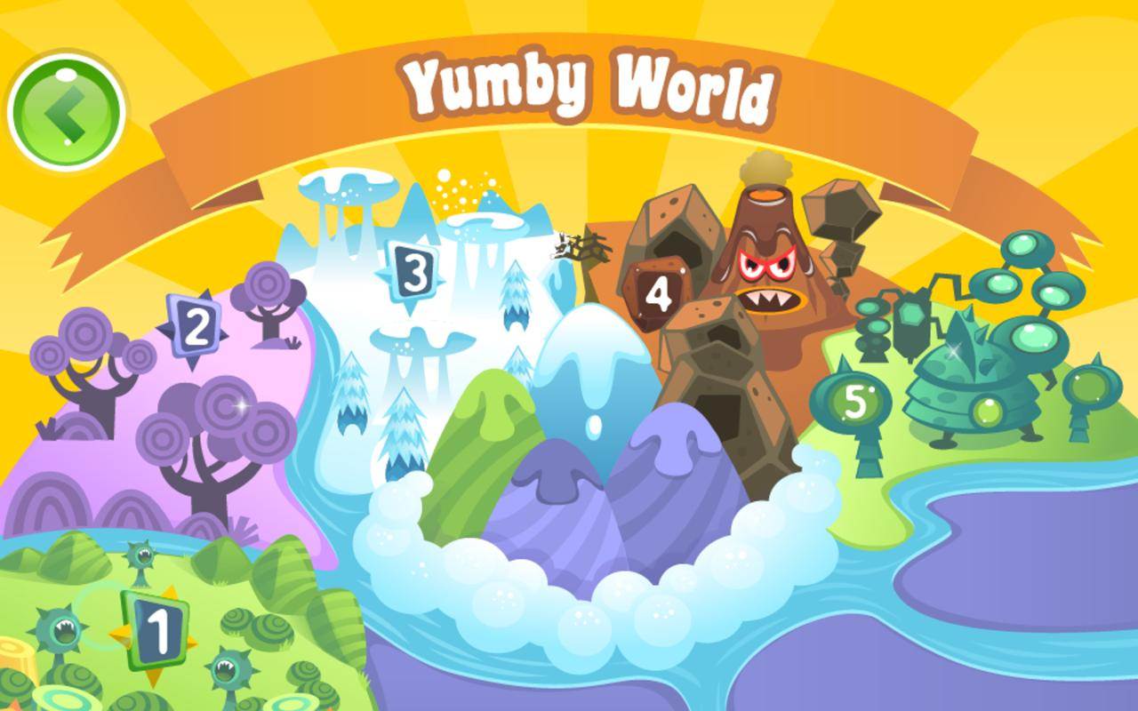 Yumby Toss - screenshot