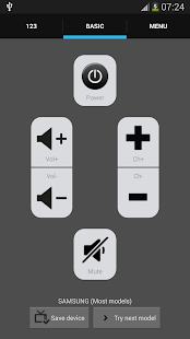 Galaxy Universal Remote - screenshot thumbnail