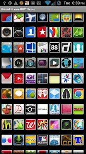 ADW Theme Blurred Nuevo- screenshot thumbnail