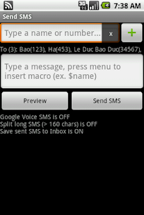 Group SMS Pro & Scheduler - screenshot thumbnail