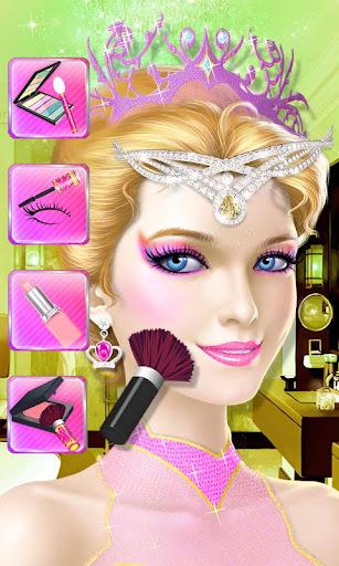 公主的皇家美容大變身: 少女時尚換裝遊戲