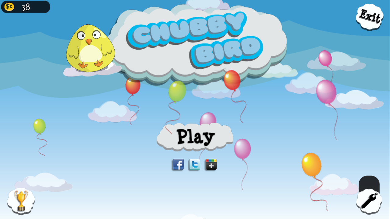 Chubby Bird - screenshot
