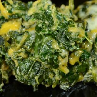 Spinach Crap Recipe