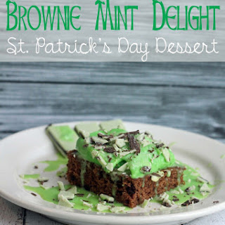 St. Patrick's Day Dessert Brownies