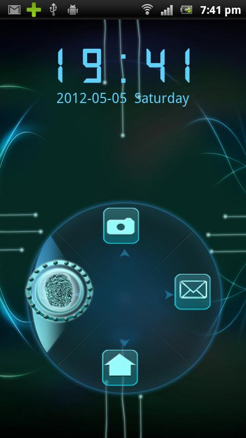 Rotating Finger Scanner Locker- screenshot