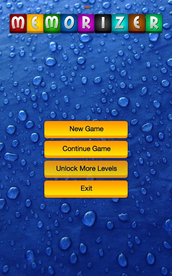 Memorizer Free - Memory Game- screenshot