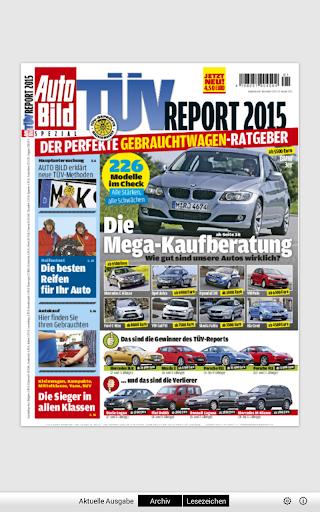 TÜV Report Reader