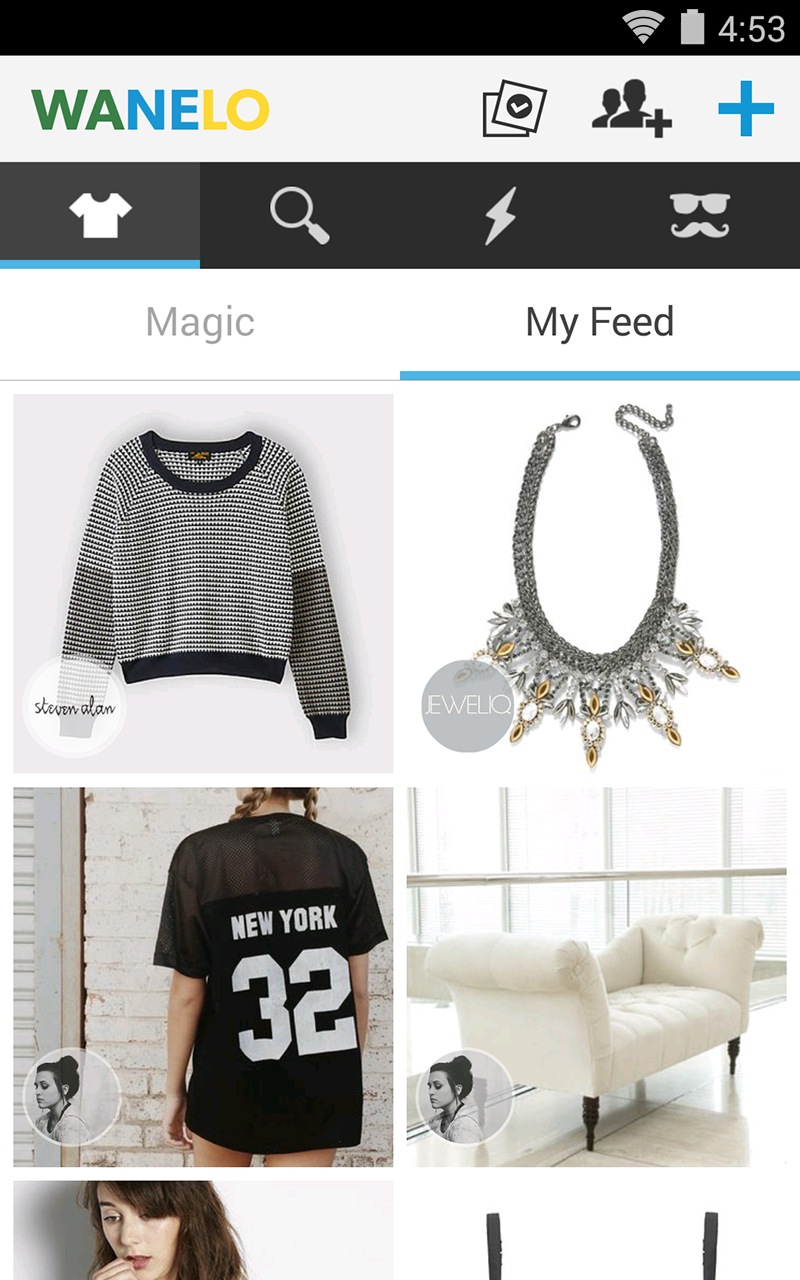 Wanelo Shopping screenshot #1