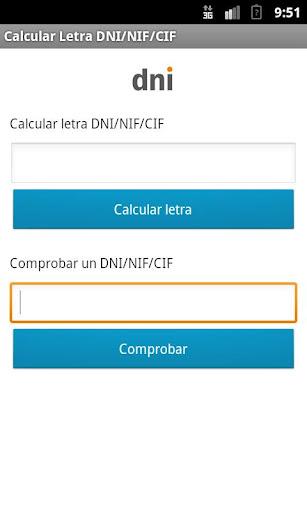 工具必備APP下載|Calcular Letra DNI/NIF/CIF 好玩app不花錢|綠色工廠好玩App