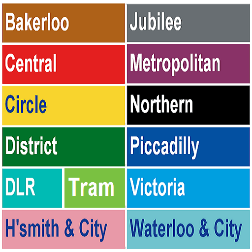 London Tube Map LOGO-APP點子