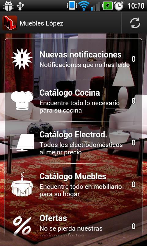 Muebles López- screenshot