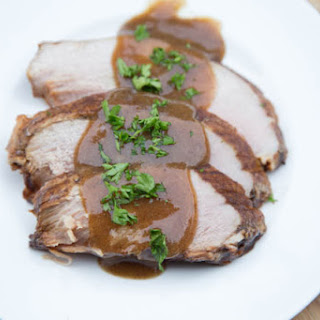 Slow Cooker Maple & Balsamic Pork Roast