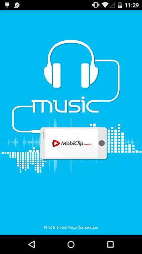 Nghe nhạc MobiClip Music