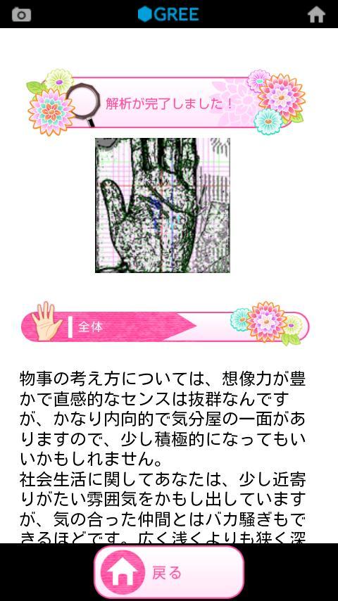 Palmistry- screenshot