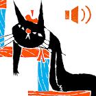 くろねころびんちゃん「びろーん」ナレーション付き icon