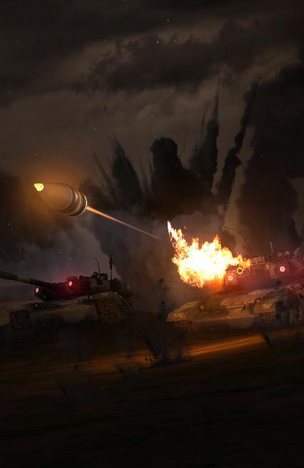 Tank War Live Wallpaper Screenshot