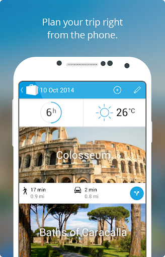 Rome Travel Guide Map