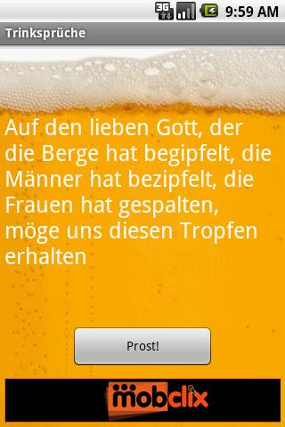 GERMAN Drinking Toasts - screenshot