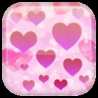 Corazón fondo animado icon