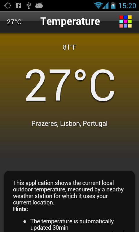 Temperature Free - screenshot