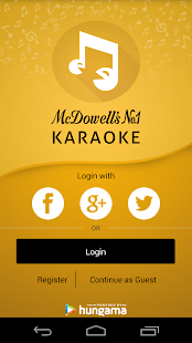 McDowell's No 1 Karaoke- screenshot thumbnail