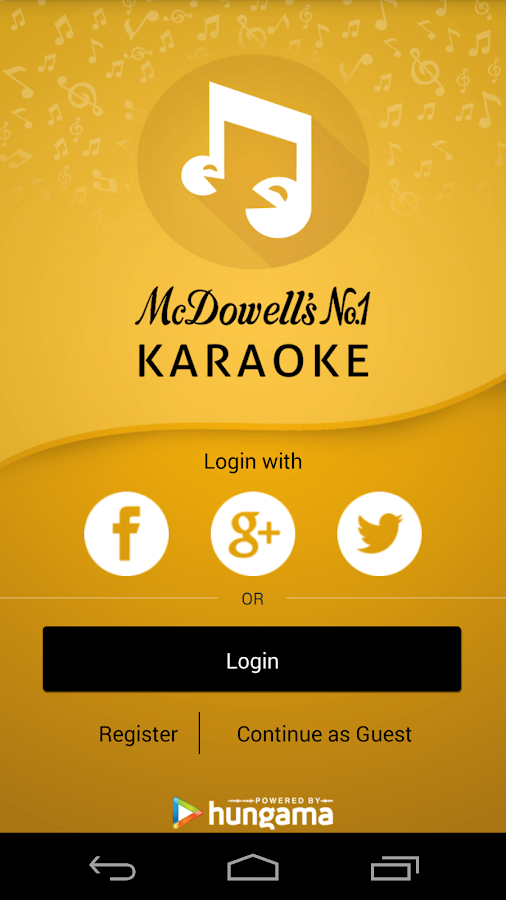 McDowell's No 1 Karaoke- screenshot