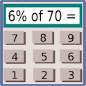 A Math Calculator logo