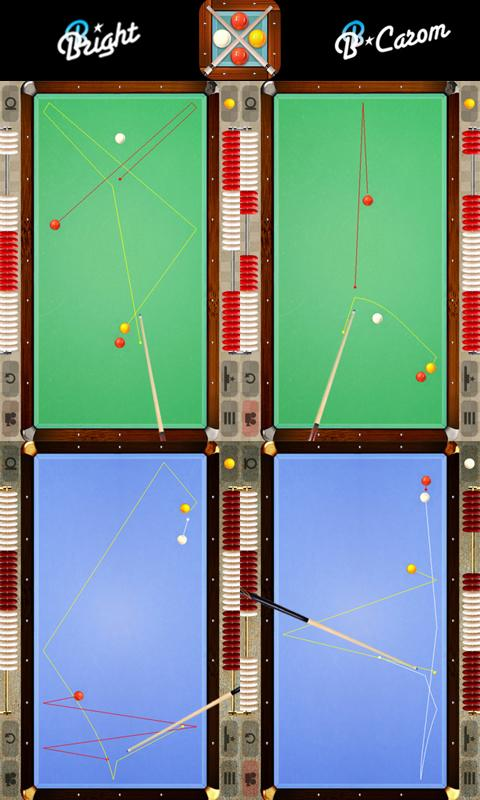 BB Carom Billiard (3 cushion) - screenshot