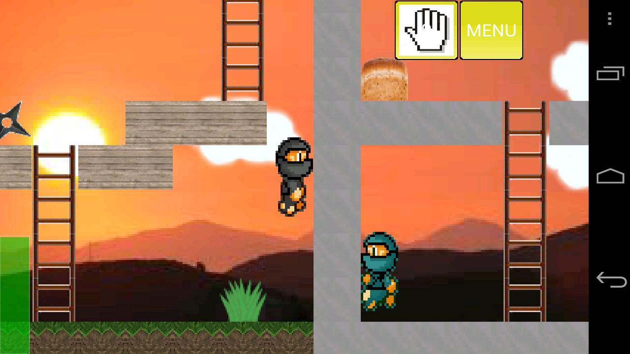 Ninja Platformer!- screenshot
