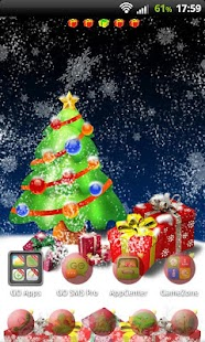 Christmas Tree for GO Launcher- screenshot thumbnail