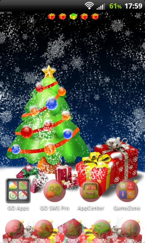 Christmas Tree for GO Launcher- screenshot