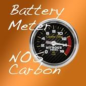 Battery Meter NOS Carbon