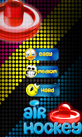 Screenshot of Glow Air Hockey Plus