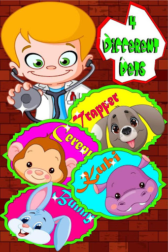 Baby Pet Doctor Game