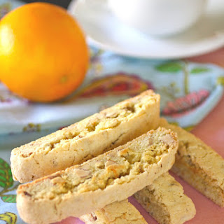 Almond-Orange Biscotti.
