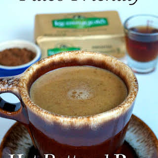 Paleo-friendly Hot Buttered Rum or Coffee.