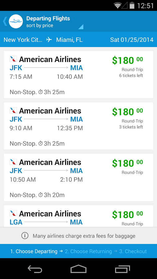 Priceline Hotels & Travel - screenshot
